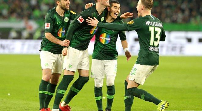 Вольфсбург – Фортуна – 5:2 – видео голов и обзор матча