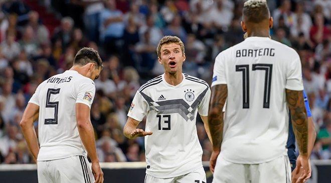 Немецкие болельщики красиво попрощались с бывшими игроками сборной