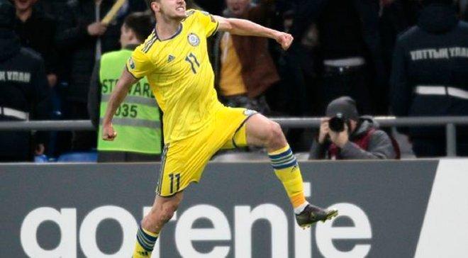 Казахстан – Шотландия – 3:0 – видео голов и обзор матча