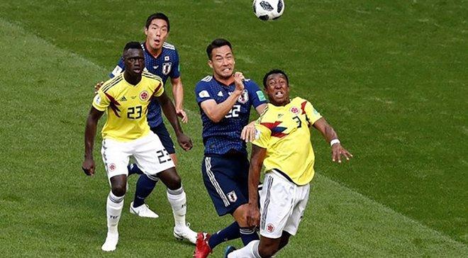 Колумбія мінімально обіграла Японію в товариському матчі