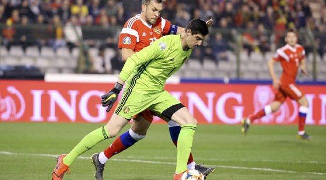 """""""Я – один з найкращих, а іспанська преса хоче мене вбити"""", – Куртуа розповів про свою фатальну помилку в матчі з Росією"""