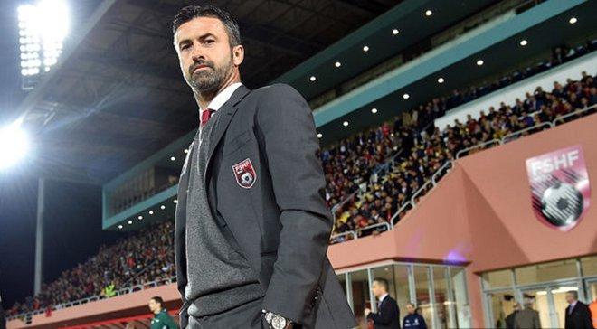Пануччи уволили с поста главного тренера сборной Албании