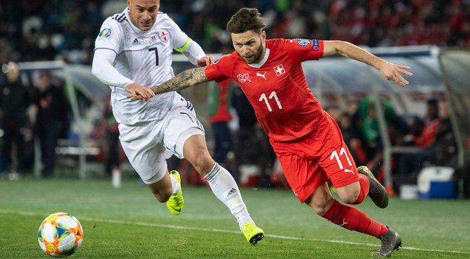 Грузія – Швейцарія – 0:2 – відео голів та огляд матчу
