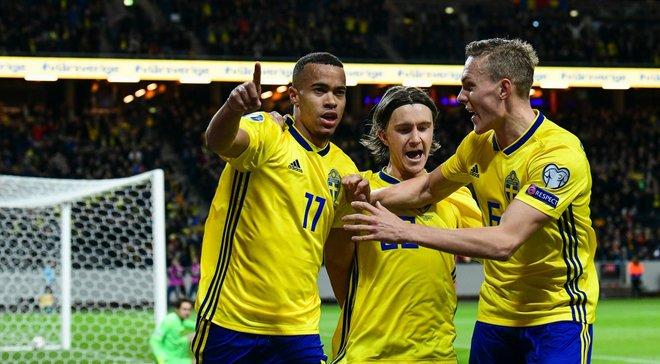 Швеция – Румыния – 2:1 – видео голов и обзор матча