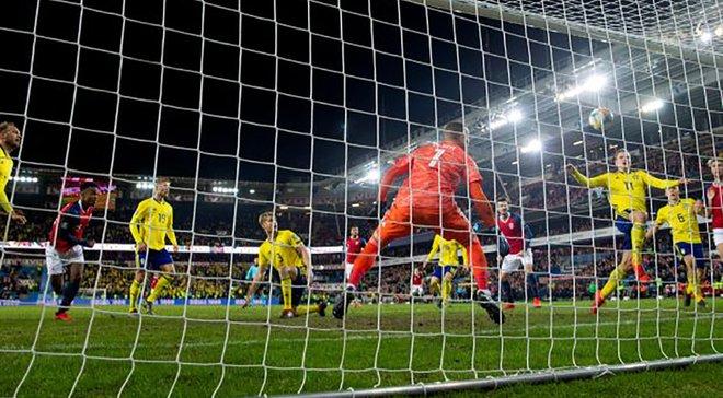 Норвегия – Швеция – 3:3 – видео голов и обзор матча
