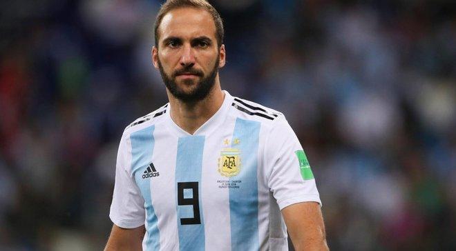 Игуаин завершил карьеру в сборной Аргентины