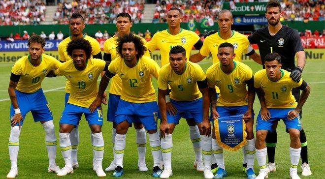 Збірна Бразилії вперше за 69 років зіграє у білій формі