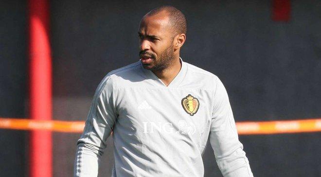 Анри может вернуться в тренерский штаб сборной Бельгии
