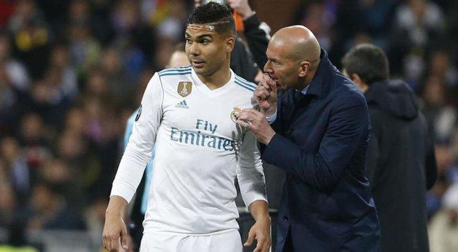 """""""Больше, чем тренер"""", – Каземиро прокомментировал значение Зидана для Реала"""