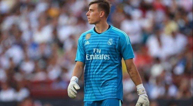 Реал може повернути Луніна на наступний сезон – конкурентом українця цікавиться Базель