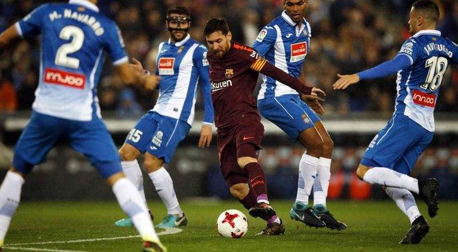 Барселона – Еспаньйол: пряма трансляція матчу