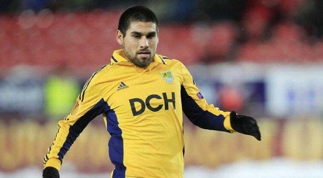 Кристиан Вильягра вернулся в футбол после смерти брата