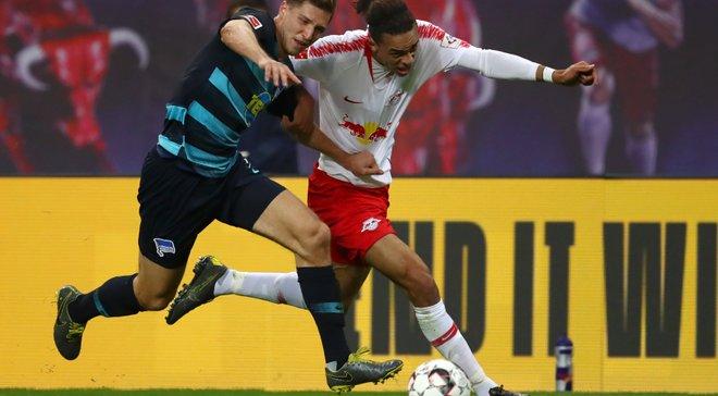 РБ Лейпциг знищив Герту, Баварія дозволила Борусії Д стати одноосібним лідером: Бундесліга, матчі суботи