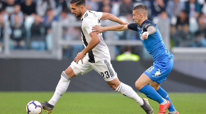 Ювентус – Эмполи – 1:0 – видео гола и обзор матча