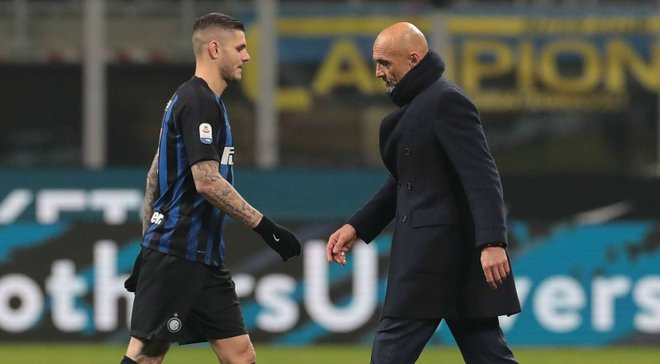 """""""Вчера кое-что произошло, мне нужно над этим подумать"""", – Спаллетти не включил Икарди в заявку Интера на матч с Лацио"""