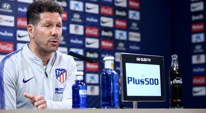 Симеоне: Атлетико до последнего вздоха будет бороться за победу в Ла Лиге
