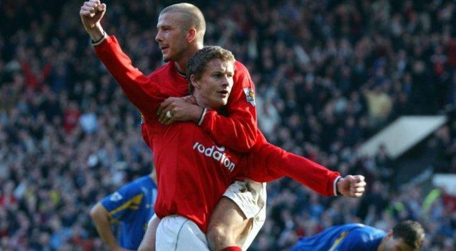 Бекхем оцінив перспективи Сульшера в Манчестер Юнайтед