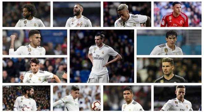 Фото каждого игрока реал мадрид