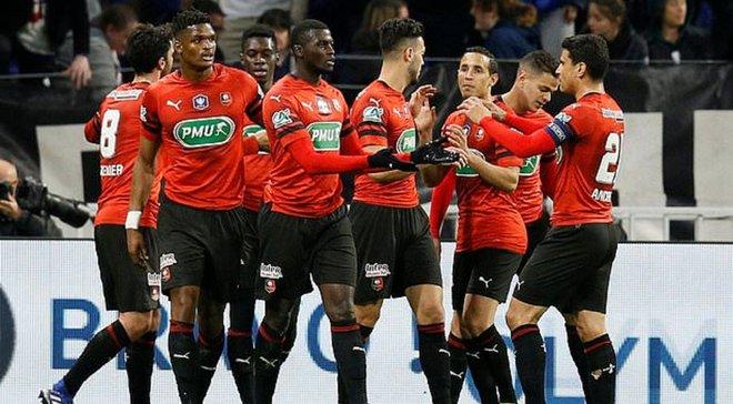 Ренн у драматичному матчі переміг Ліон та вийшов у фінал Кубка Франції