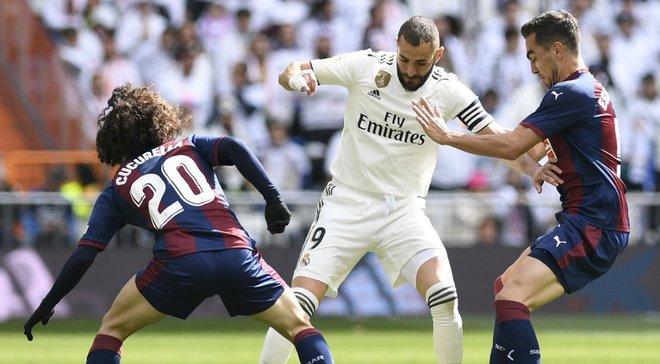 Реал – Эйбар – 2:1 – видео голов и обзор матча