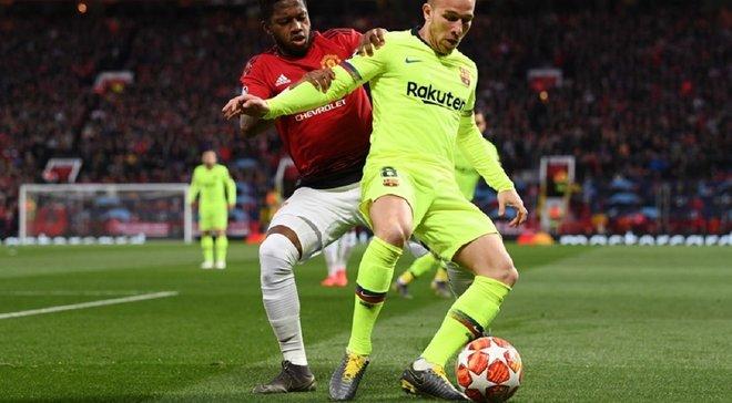 Манчестер Юнайтед – Барселона – 0:1 – відео гола та огляд матчу
