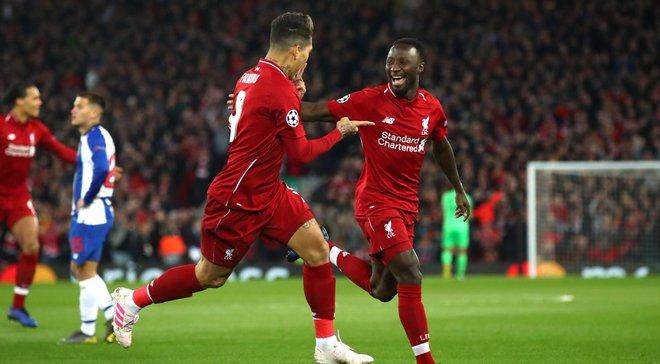 Ливерпуль уверенно переиграл Порту в четвертьфинале Лиги чемпионов