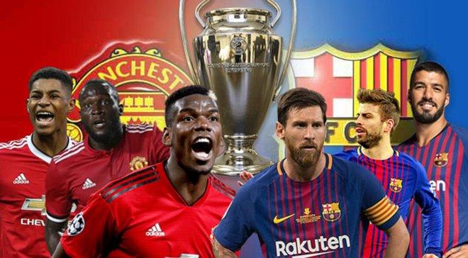 Манчестер Юнайтед – Барселона: анонс матча Лиги чемпионов