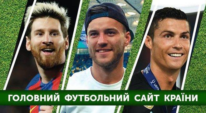 """""""Футбол 24"""" – самый рейтинговый спортивный сайт Украины"""