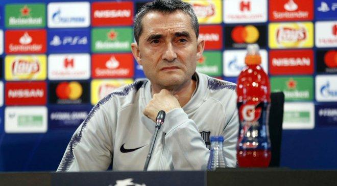 Вальверде: Участие Дембеле в матче с Манчестер Юнайтед под вопросом