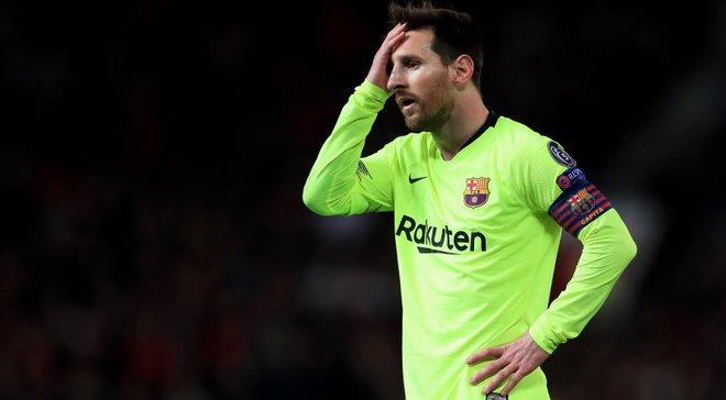 У Месси трещина в носовой перегородке – он рискует пропустить следующий матч Барселоны в Ла Лиге