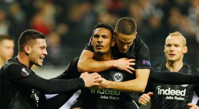 Лига Европы: Айнтрахт может повторить рекорд Атлетико по количеству матчей без поражений