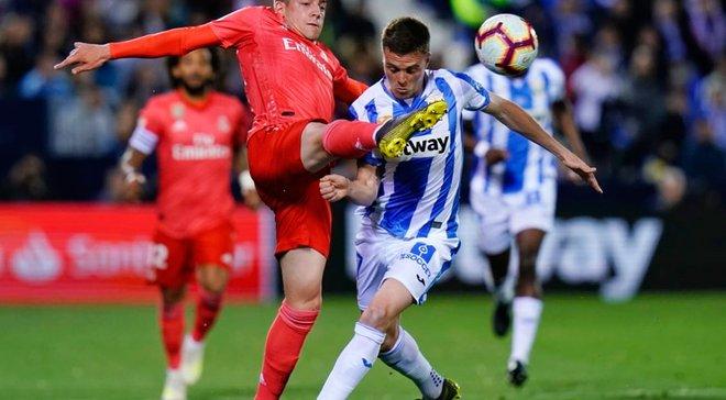 """Леганес розписав нічию з Реалом: """"бланкос"""" як середняк Ла Ліги, деградація Бейла та неоднозначний матч конкурента Кравця"""