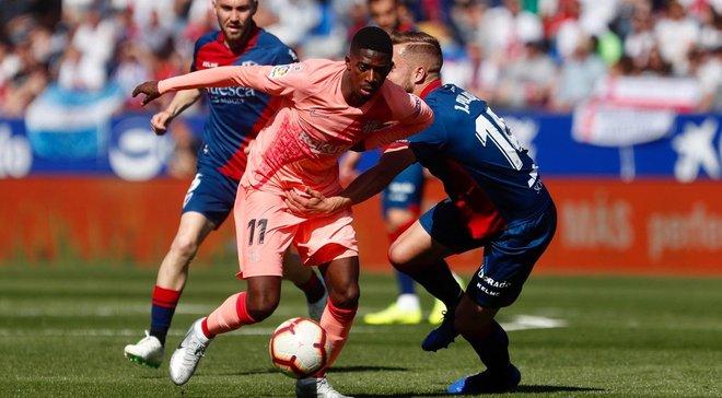 Барселона резервним складом не обіграла аутсайдера Ла Ліги Уеску