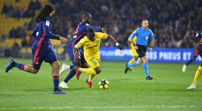 Сенсаційна поразка Ліона Нанту – 2:1 – відео голів та огляд матчу