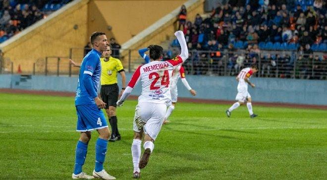 Мемешев отличился дебютным голом за Славию-Мозырь и принес победу своей команде