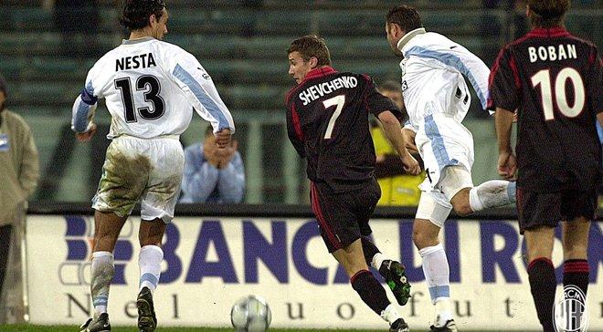 Мілан – Лаціо: Шевченко пригадав свій хет-трик у ворота римлян, анонсувавши роботу на матчі