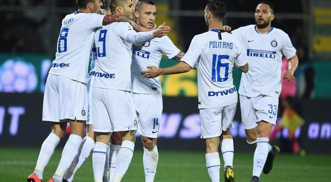 Интер победил Фрозиноне, Кьево после поражения от Наполи вылетел из элиты: 32-й тур Серии А, матчи воскресенья