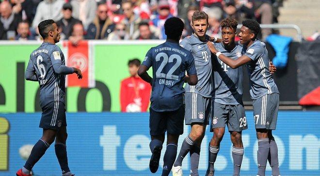 Бавария гарантировала себе Лигу чемпионов на сезон 2019/20