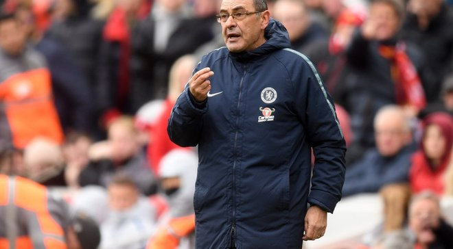 Сарри нашел виновных в поражении Челси от Ливерпуля