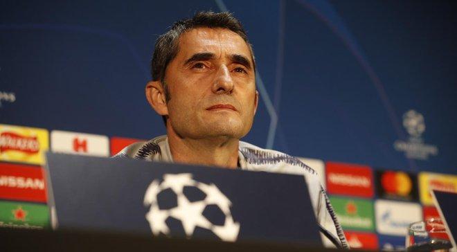 Барселона – Манчестер Юнайтед: передматчева прес-конференція Ернесто Вальверде