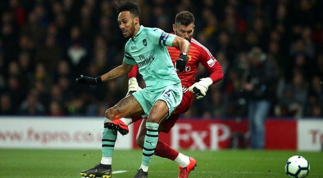 Арсенал победил Уотфорд и поднялся на четвертую строчку