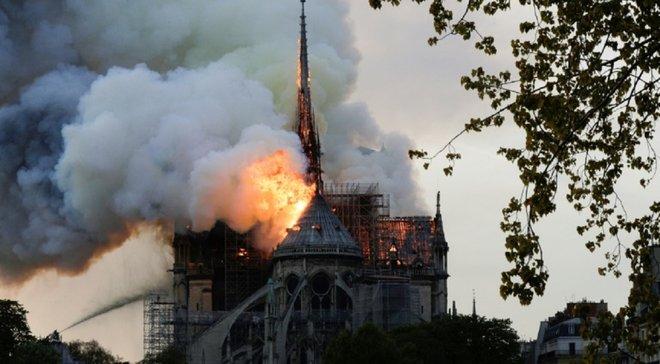 ПСЖ пообещал помочь с восстановлением собора Нотр-Дам де Пари
