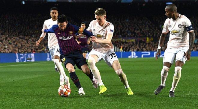 """""""Настоящая Барселона"""", – Месси прокомментировал победу над Манчестер Юнайтед в Лиге чемпионов"""