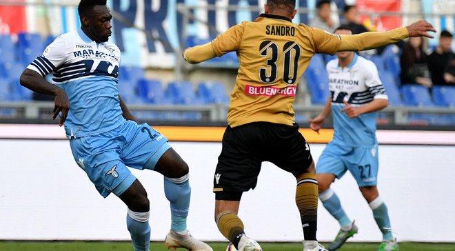 Лацио на своем поле уверенно победил Удинезе