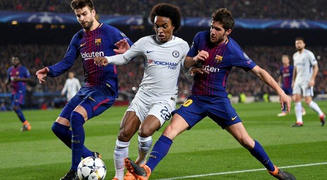 Челсі та Барселона проведуть спаринг в Японії