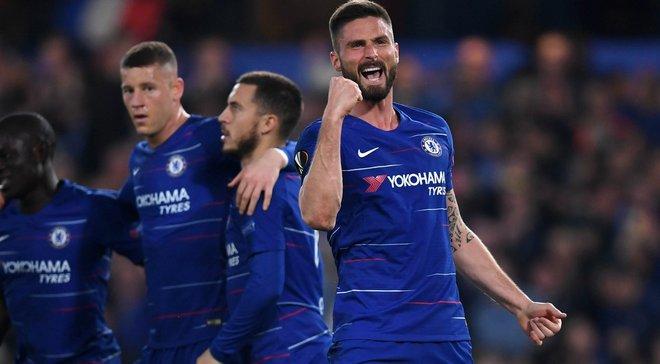 Лига Европы: Айнтрахт благодаря камбэку выбил Бенфику, Челси победил Славию, Валенсия прошла Вильярреал