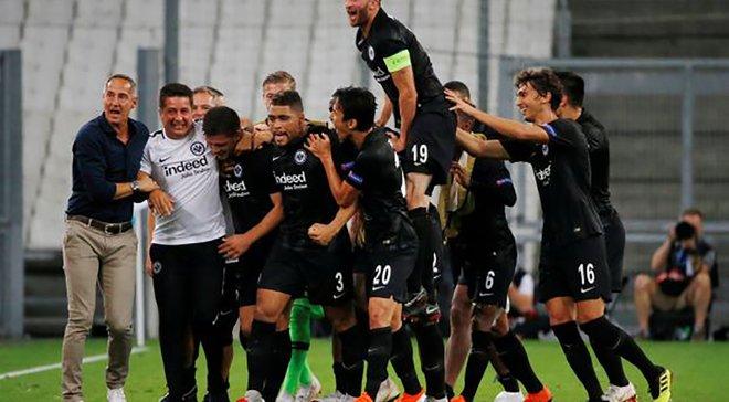 Айнтрахт – Бенфика – 2:0 – видео голов и обзор матча