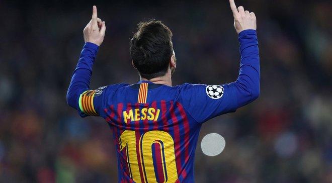 Месси – лучший игрок недели в Лиге чемпионов