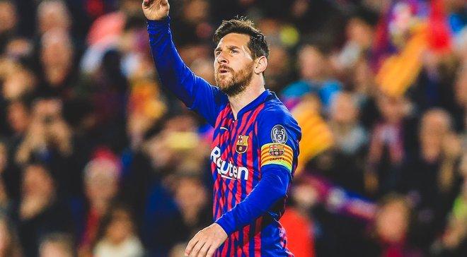Месси – автор лучшего гола недели в Лиге чемпионов