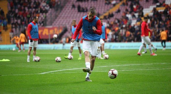 Кравець забив Галатасараю в матчі чемпіонату Туреччини